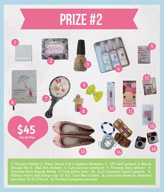 The Giveaway Grand Kickoff! Opi, Nail Lacquer, Nail Art, Happy Year, Clinique, Urban, Stickers, Giveaways, Facebook