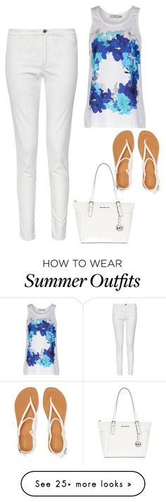 """""""Summer Outfit #1"""" by sunshine24-7-1 on Polyvore featuring French Connection, adidas, Aéropostale and MICHAEL Michael Kors"""