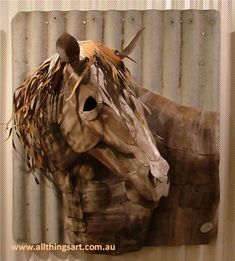 Harry the Horse. Sculptures, Lion Sculpture, Art Forms, Painting & Drawing, Purpose, Iron, Horses, Statue, This Or That Questions