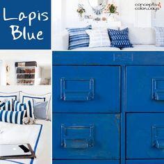 pantone lapis blue, color trends 2017, color for interiors, bright blue, indigo blue, cobalt blue, sapphire blue, royal blue, electric blue