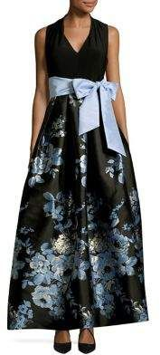 Eliza J Floral Ball Gown #gowns #prom #promdress #eveningdresses #eveninggowns #affiliate