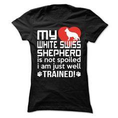 White Swiss Shepherd - #shirt for girls #tumblr sweatshirt. CHECKOUT => https://www.sunfrog.com/Pets/White-Swiss-Shepherd-63108820-Ladies.html?68278