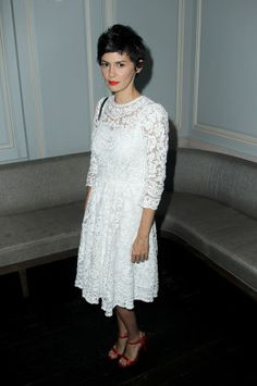 Woody Allen's Midsummer's Night Dream - Audrey Tautou Modest Fashion, Fashion Outfits, Audrey Tautou, Special Dresses, Great Women, White Outfits, Modest Dresses, White Fashion, Style Icons