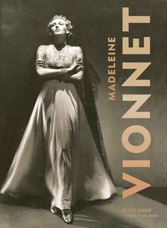 """Madeleine Vionnet - was a French fashion designer. Called the """"Queen of the bias cut"""" and """"the architect among dressmakers"""", Vionnet is best known today for her elegant Grecian-style dresses and for introducing the bias cut to the fashion world."""