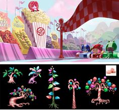 Concept Arts de Wreck-it Ralph!, da Disney | THECAB - The Concept Art Blog