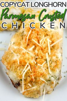 Fresh, juicy, grilled chicken becomes irresistible when it's topped with a creamy, crunchy Parmesan and garlic cheese crust. This is definitely DROOL-WORTHY! Garlic Cheese, Parmesan Crusted Chicken, Marinated Chicken, Grilled Chicken, Easy Chicken Recipes, Quick Recipes, Meat Recipes, Yummy Recipes, Dinner Recipes