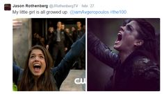 Octavia Blake || The 100 || Marie Avgeropoulos || Jason Rothenberg on Twitter || Character Development