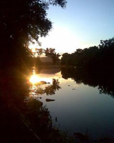 [OC] Setting On Chemung River Fishing was my best friend when taking nature shots [540x675]