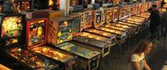 4/3/10: Pinball games in the Pinball Hall of Fame.(Photo by Glenn Pinkerton) | 4 Las Vegas Attractions for Fun & Adventure for RV Campers http://ow.ly/gnBI5
