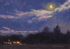 Marc R. Hanson, 9-18 -1 Moon Over O'Brien