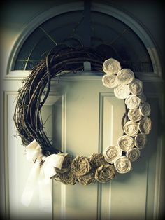 girly wreath