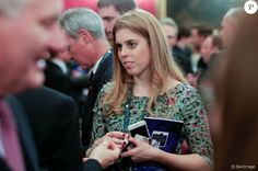 La princesse Beatrice d'York lors du salon Pitch@Palace entrepreneurial au palais St James à Londres le 2 novembre 2015