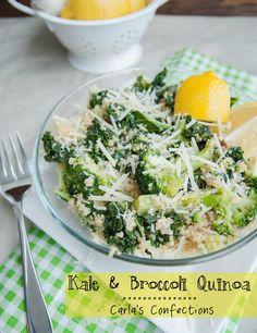 Kale + Broccoli Quinoa