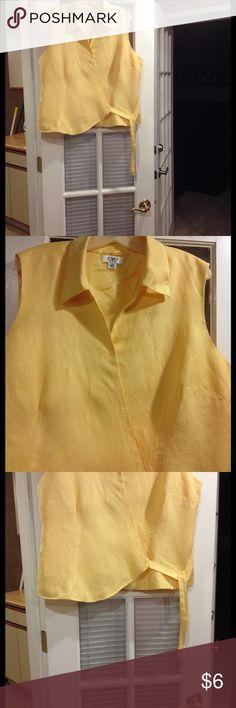 22W Cato sleeveless blouse good condition 22W Cato sleeveless blouse good condition Cato Tops Blouses