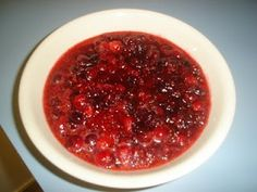 the most amazing cranberry sauce ever