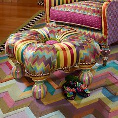 Makenzie-Childs - Ottomans, Stools, & Tuffets