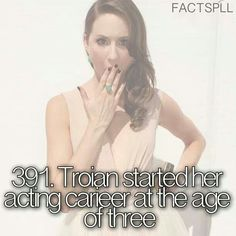 Troian Bellisario facts
