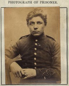 John Park was convicted of stealing a violin. He had no previous convictions and served one month with hard labor. Mug Shots Of Criminals In The Celebrity Mugshots, John Thomas, Civil War Photos, Dark Eyes, Brown Eyes, Library Of Congress, Mug Shots, Back In The Day, Newcastle