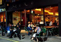 Moro - Moorish cuisine in London's Exmouth Market. LCG* - London City Guide