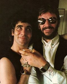 Moon & a Star! Keith Moon & Ringo Star :-)<3 can u belive it??????????????????????????????????????''''''''''''''''''''''''''''