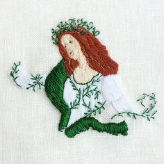#Botticelli #embroidery