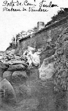Bataille du Chemin des Dames  : Rasage - Poste de commandement Foulon