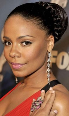 Updo Hairstyles for Black Women with Swoop | updo hairstyles black women | My Hairstyles Site