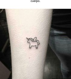 Tiny unicorn tat