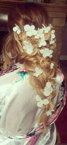Lange Haare Blumenranke Braut Haar Rebe /pearl und lange Haare Blumenranke /