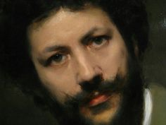 John Singer Sargent's portrait of Carolus Duran (detail)