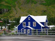 House in Seyðisfjörður, east Iceland