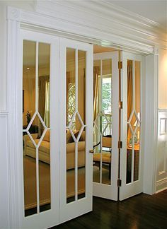 veneer with mirror inlay furniture - Google Search