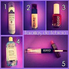 PRODUCTOS FAVORITOS DE... #aussie #loreal #makeup #beauty #kikocosmetics