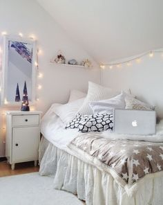 Ideas Deco: Como decorar dormitorios en blanco