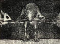 "Saatchi Art Artist Fernando Guibert; Printmaking, ""Night"" #art"