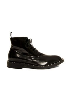 Fred Ball Lace Up Boot (Black)