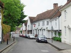 View of Fishpool Street, St. Albans, Hertfordshire, England
