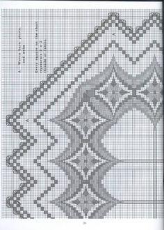 Gallery.ru / Фото #64 - Хардангер -скатерти, салфетки, схемы - lipa2010 Broderie Bargello, Bargello Needlepoint, Needlepoint Stitches, Needlework, Hardanger Embroidery, Hand Embroidery Stitches, Cross Stitch Embroidery, Embroidery Patterns, Bead Loom Patterns