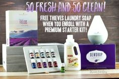 Young Living's September promotion is great. Order the Premium Starter Kit…