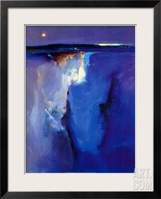 Violet Horizon Framed Print, Peter Wileman
