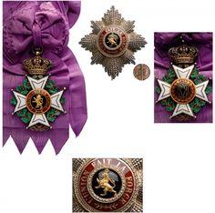 Order of Leopold (civil), Grand Cordon badge and star