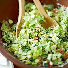 Chopped Green Salad - dinner