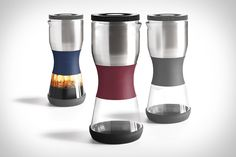 Paper filters, coffee particles, and sludgy leftovers are a thing of the past thanks to the Duo Coffee Steeper from Fellow. Just add coffee, and hot water into the well designed carafe, stir it up and wait for Duo to...