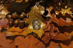 Otala  Rune Amulet Pendant Handmade Brass Wicca Pagan Viking Druid