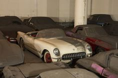 After a 25-year slumber, the VH1 / Peter Max Corvettes resurface