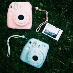 a79a994d8ce24 Pink   blue Fujifilm Instapix Camera- for modern polaroids