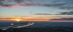 Sunrise over Vienna by Philipp Rümmele Mountain Bike Tour, Mountain Biking, Image Types, Berg, Vienna, Google Images, Austria, Sunrise, Skyline