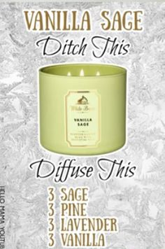 Essential Oil Candles, Essential Oil Uses, Doterra Essential Oils, Essential Oils Cleaning, Essential Oils Christmas, Essential Oil Combinations, Essential Oil Diffuser Blends, Diffuser Recipes, Aromatherapy Oils
