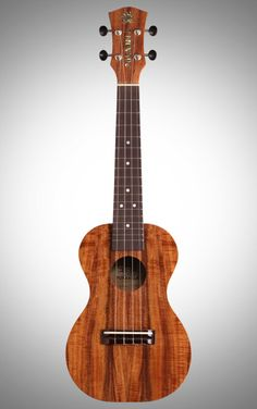 PukanaLa PU-K2 Acacia Koa Concert Ukulele Package - With the top, back, and sides all made from beautiful acacia koa wood, the PukanaLa PU-K2 uke is not only nice to look at -- it also delivers excellent tone.