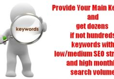 castorland: do professional Keyword Research on a given niche and provide you High Traffic/Low Competition KWs for $5, on fiverr.com